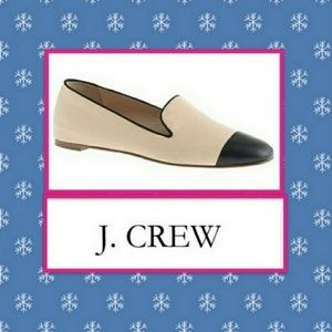 J. Crew Darby cap toe loafers